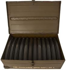 Ammunition box contains 12 magazines