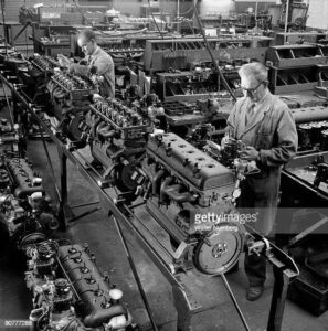 346/Star Engines being assembled at the Armstrong Factory