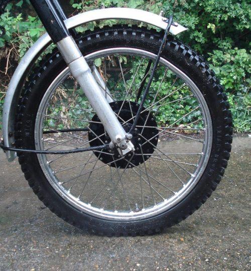 Damaged wheel rim after Arbuthnot Trial 2013