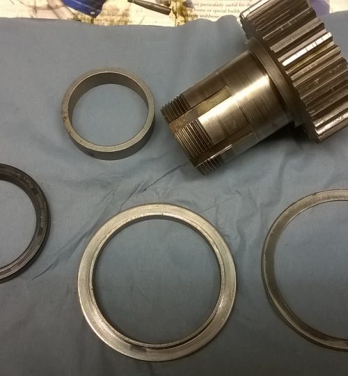 Gearbox oil seal retaining ring 3