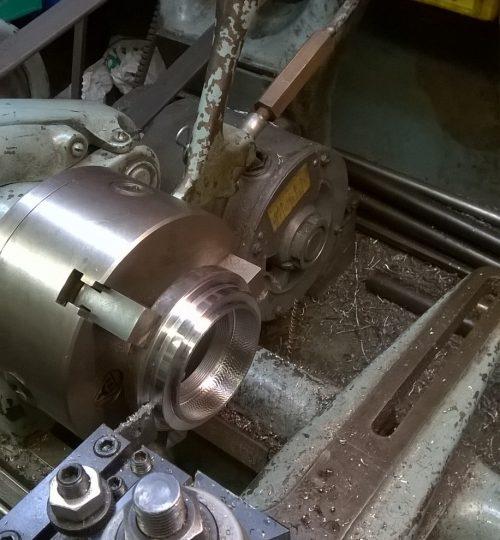 Ariel gearbox oil seal retainer