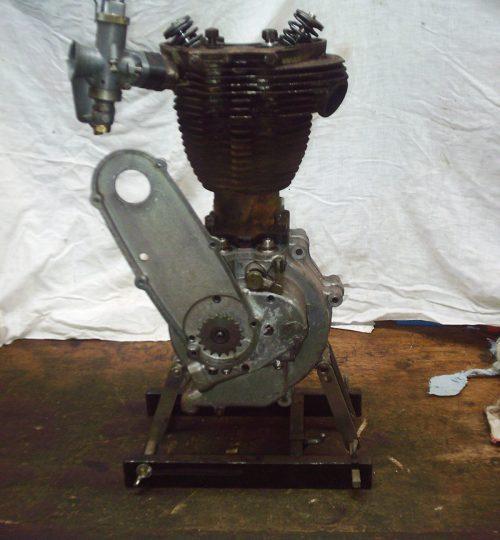 Matchless G3-L engine built as standard