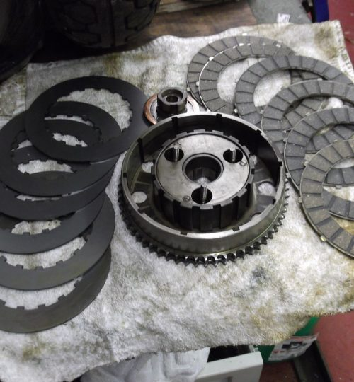 Replacement clutch 2