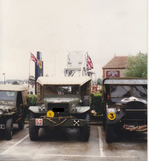 Pegasus Bridge Café Normandy 1996