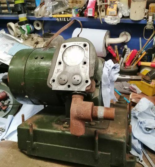 Head off, valves re-ground